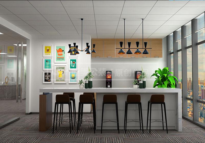 昆明金融办公室装修设计案例_昆明装修公司|昆明办公